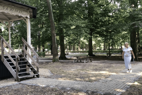 Swingend woongeluk in Muiderberg 1