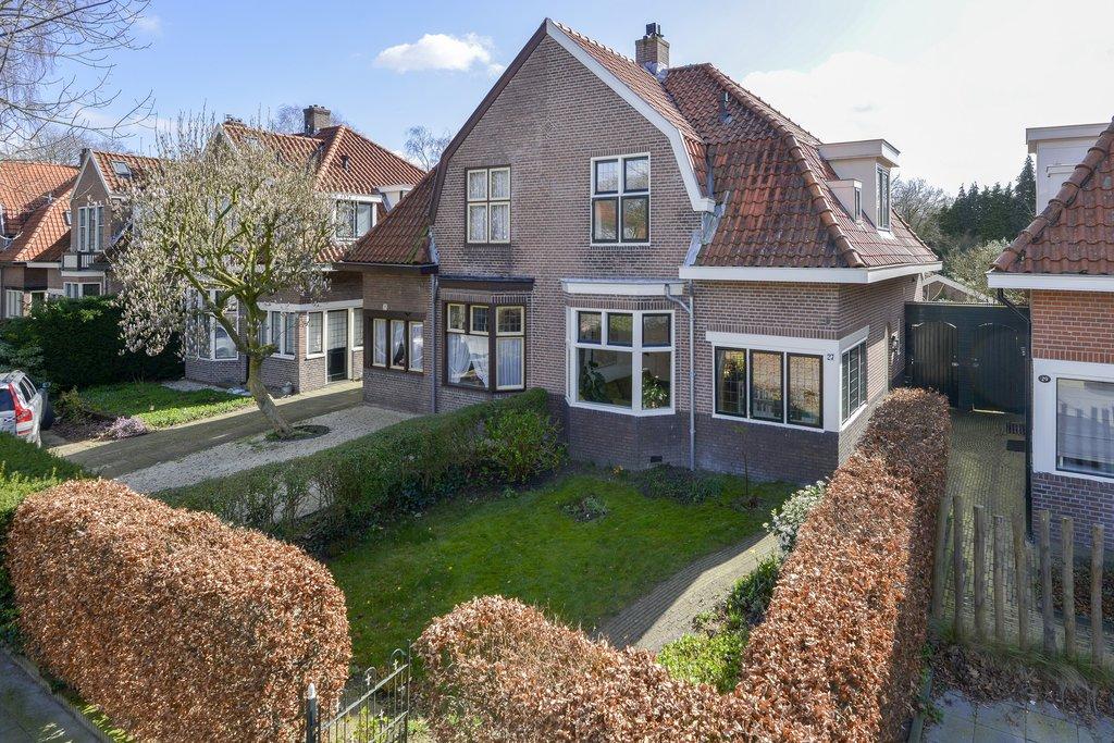Zwarteweg 27 is onlangs verkocht in Bussum