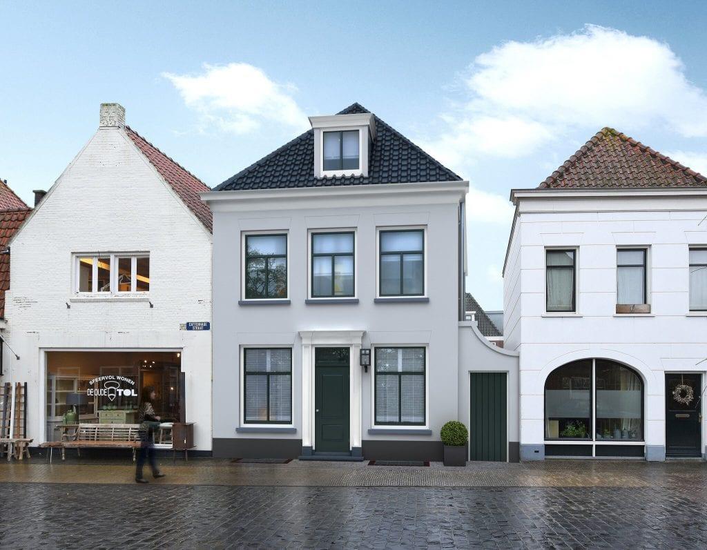 bouw je eigen huis in naarden vesting op de Cattenhagestraat 49a